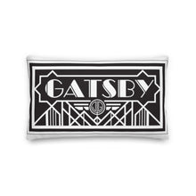 Load image into Gallery viewer, B & W Great Gatsby Decorative Throw Lumbar Pillow - Artski&Hush