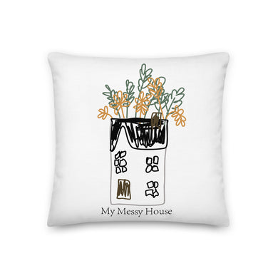 My Messy House Decorative Throw Pillows - Artski&Hush