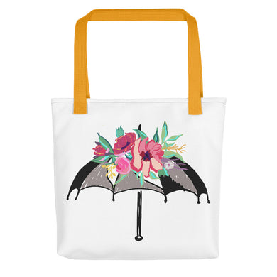 Flora Umbrella Toting Bag - Artski&Hush