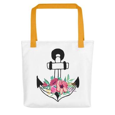 Flora Anchor Toting Bag - Artski&Hush