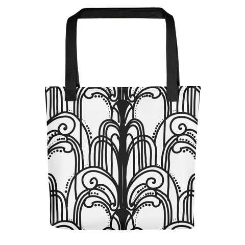 Art Deco Fountains Tote bag