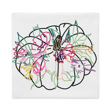 Load image into Gallery viewer, Colorful Gathering Pumpkin Pillow Cover - Artski&Hush