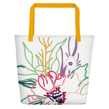 Load image into Gallery viewer, Spring Colorful Gathering Beach Toting Bag - Artski&Hush