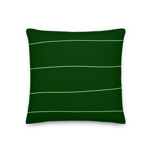 Hunter Stripes Decorative Throw Pillow - Artski&Hush