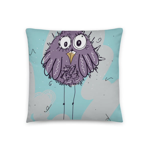 Whimsy Bird Pillow