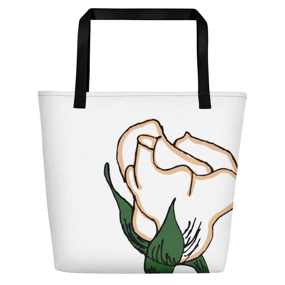 First Edition Rose Beach Toting Bag