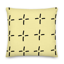 Load image into Gallery viewer, Yellow Stars Decorative Lumbar Pillow - Artski&Hush