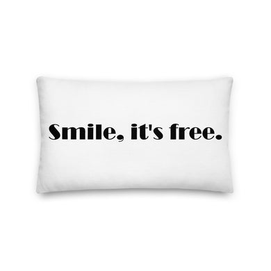 Smile Lumbar Decorative Throw Pillow - Artski&Hush