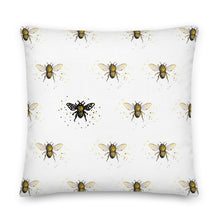 Load image into Gallery viewer, Bee the One Throw Pillow - Artski&Hush