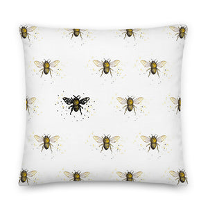 Bee the One Throw Pillow - Artski&Hush