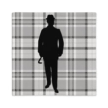 Load image into Gallery viewer, Plaid Gentleman Pillow Cover - Artski&Hush