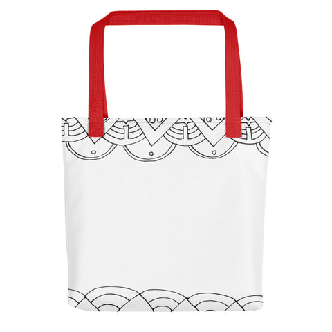 Art Deco Patterned Tote bag