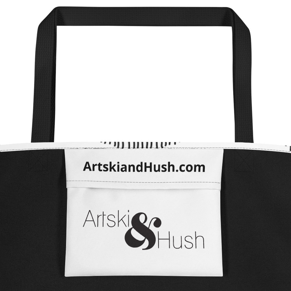 Arched Lace Beach Toting Bag - Artski&Hush