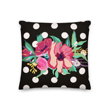 Load image into Gallery viewer, Dotty Flora Decorative Pillow - Artski&Hush