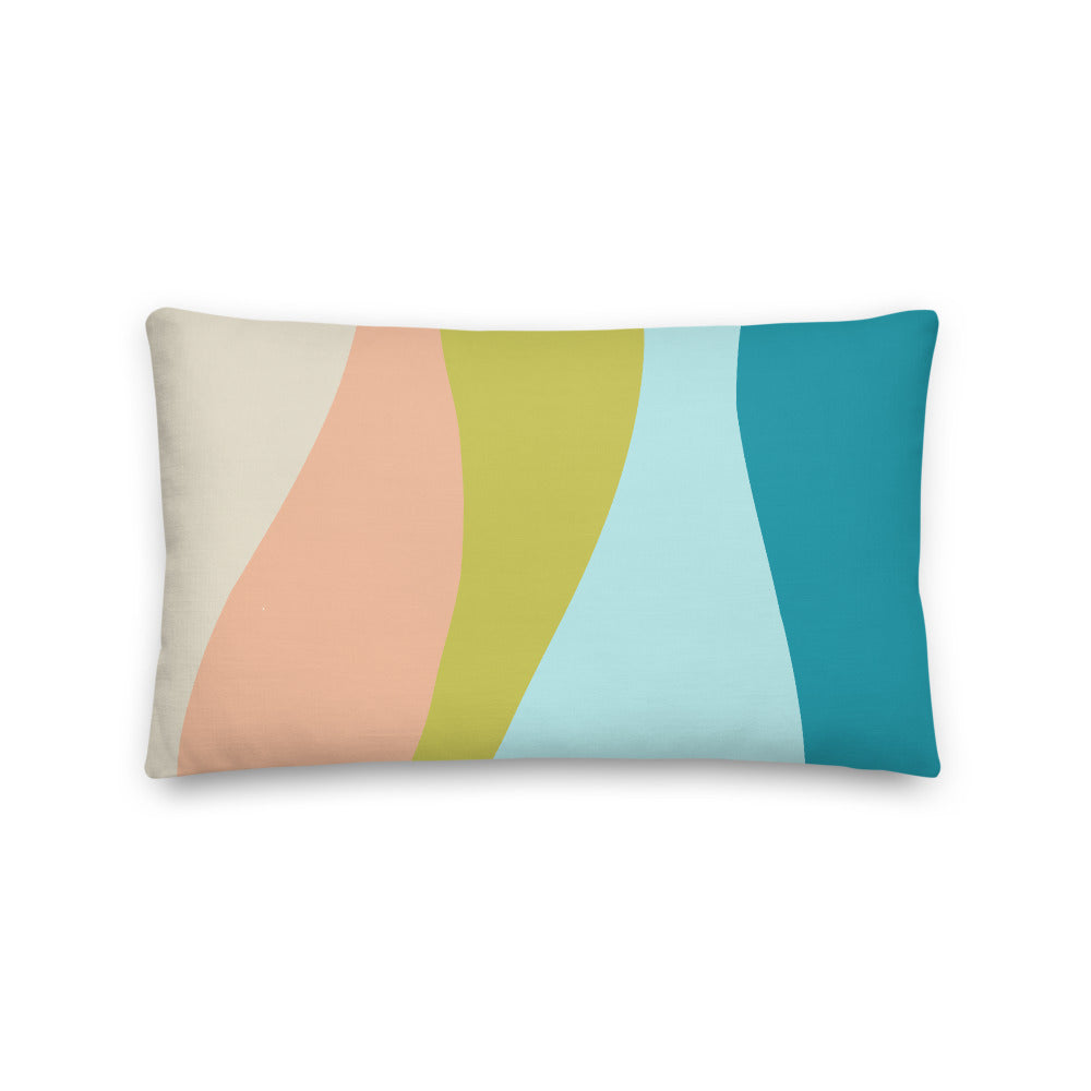 Smooth Swirls Decorative Pillow - Artski&Hush