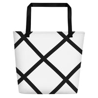 English Garden Diamond Beach Tote