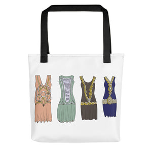 Vintage Dresses Toting Bag - Artski&Hush