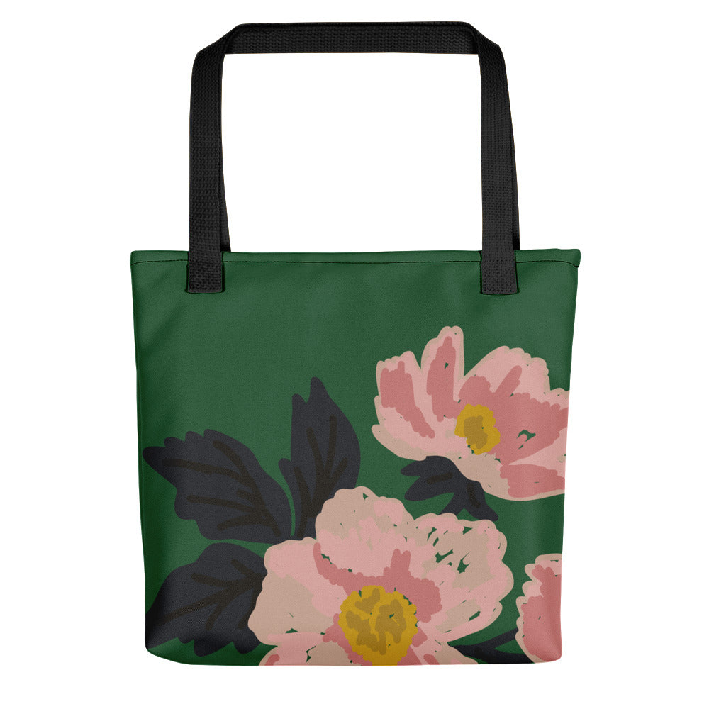 Green Flora Toting bag