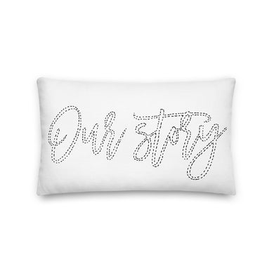 Our Story Decorative Lumbar Pillow - Artski&Hush
