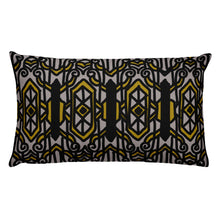Load image into Gallery viewer, Arts Deco Three Grey Decorative Throw Pillow - Artski&Hush