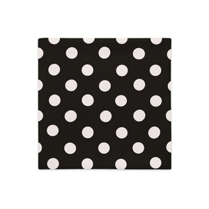 Polka Bow Pumpkin Pillow Cover - Artski&Hush