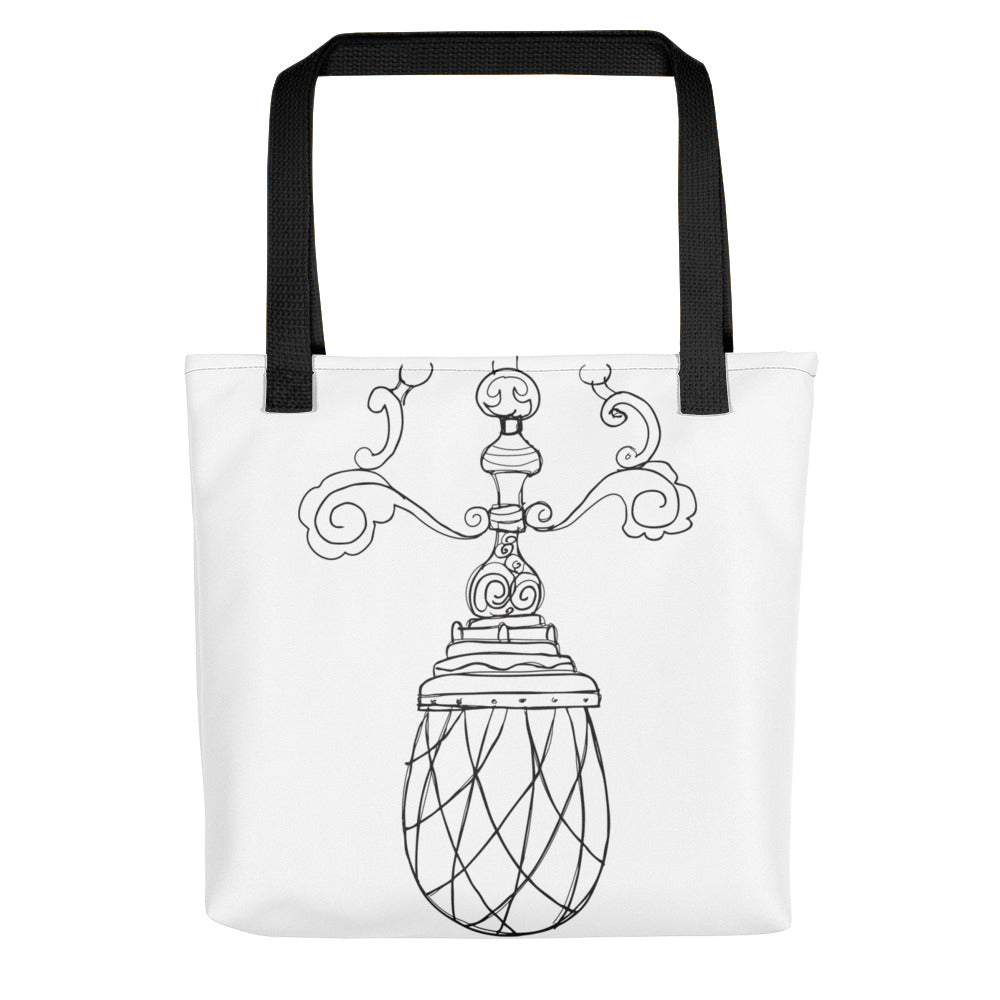 Vintage Chandelier Toting Bag - Artski&Hush