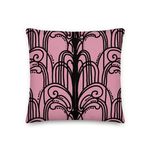 Load image into Gallery viewer, 1940's Pink Lady Cocktail Decorative Throw Pillow - Artski&Hush