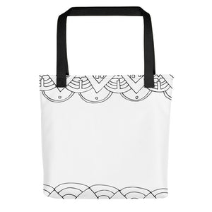Art Deco Patterned Toting bag - Artski&Hush