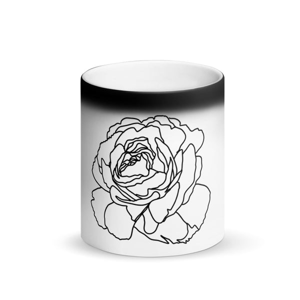 White Rose Magic Mug