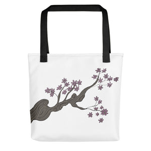 Reaching Tree Toting Bag