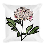 Peony Throw Pillows