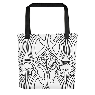 Art Deco Garden Toting bag - Artski&Hush