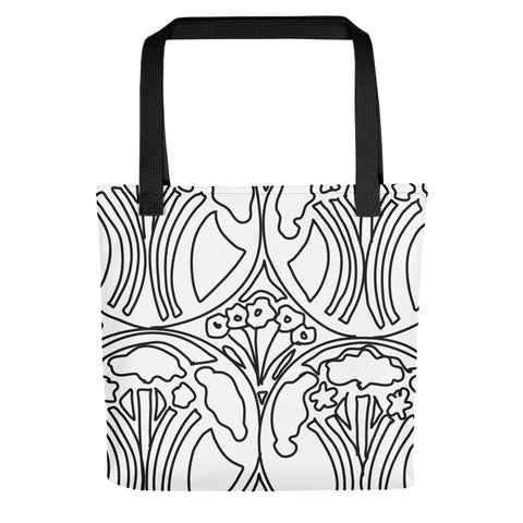 Art Deco Garden Tote bag