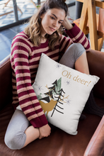 Load image into Gallery viewer, Oh deer! Decorative Throw Pillow - Artski&Hush