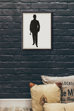 Load image into Gallery viewer, The Gentleman Framed poster - Artski&Hush