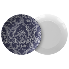 Load image into Gallery viewer, Art Deco Navy Lily Plate - Artski&Hush