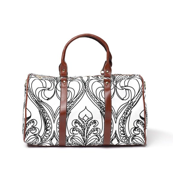 Art Deco Lily Travel Bags