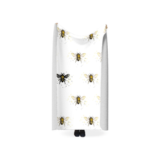 Load image into Gallery viewer, Bee the One Fleece Sherpa Blankets - Artski&Hush