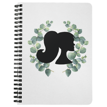 Load image into Gallery viewer, Eucalyptus Silhouette Spiral Notebook - Artski&Hush