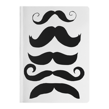 Load image into Gallery viewer, Mustache Club Paperback Notebook - Artski&Hush