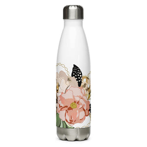 Metal Bouquet Stainless Steel Water Bottle