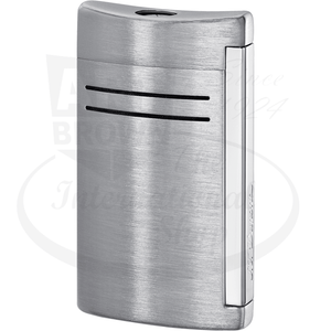 S.T. Dupont MaxiJet Brushed Chrome Lighter