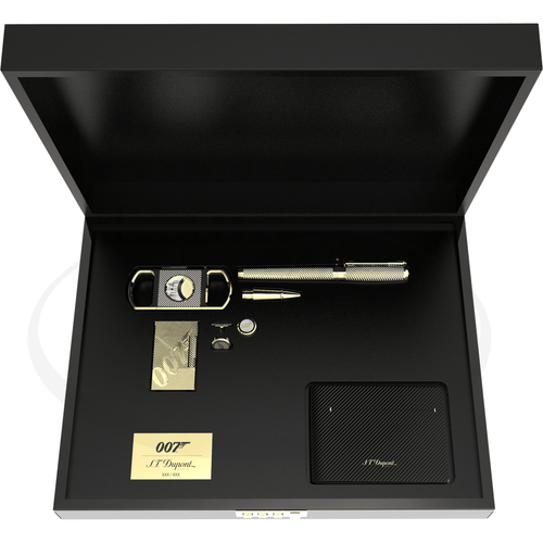 ST Dupont 007 James Bond Gold Collectors Set (5 pieces)