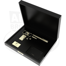 Load image into Gallery viewer, ST Dupont 007 James Bond Gold Collectors Set (5 pieces)