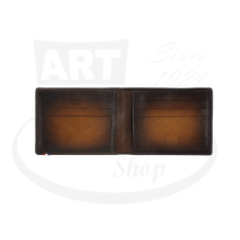 Load image into Gallery viewer, Open ST Dupont Atelier Brown 6 Credit Card Billfold
