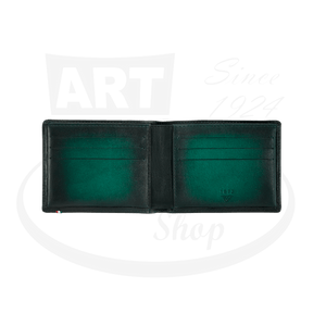 Open ST Dupont Atelier Green 6 Credit Card Billfold