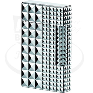 st-dupont-ligne-2-palladium-diamond-head-lighter