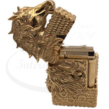 Load image into Gallery viewer, ST Dupont Year of the Horse Prestige Ligne 2 Gold Lighter 016176