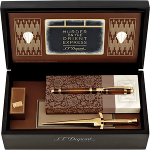 ST Dupont Murder on the Orient Express Writing Kit