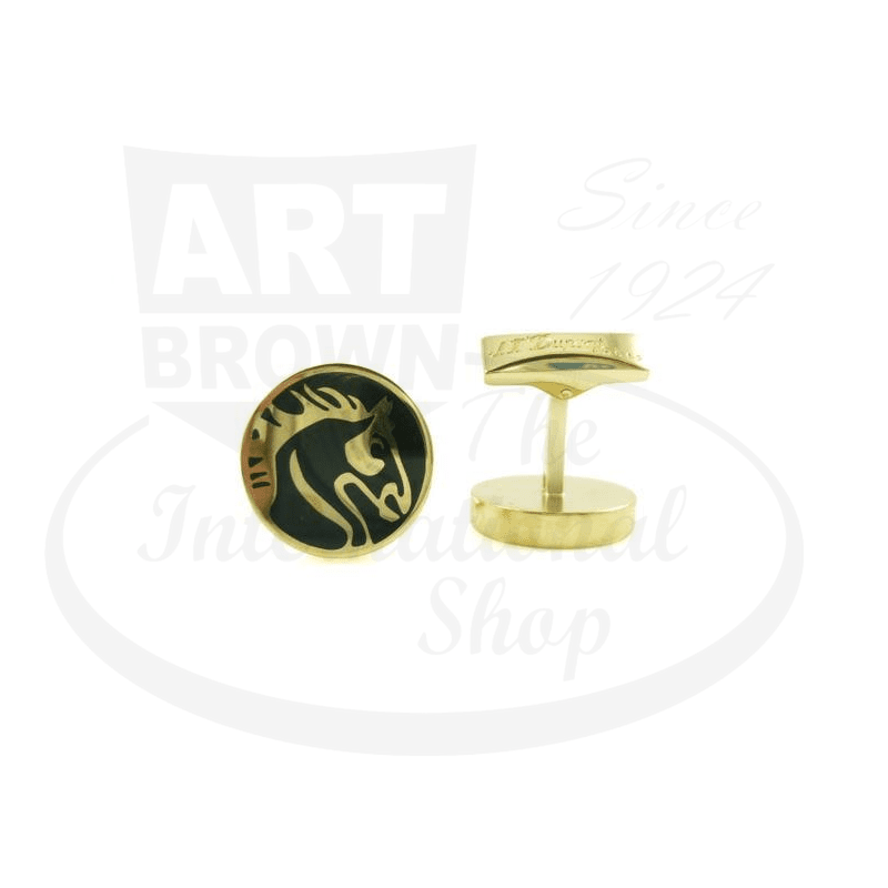 ST Dupont Limited Edition Cheval Cufflinks, 005169